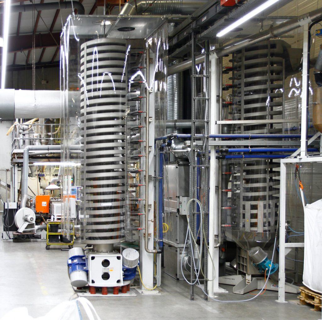 Reecyclinganlage GEALAN